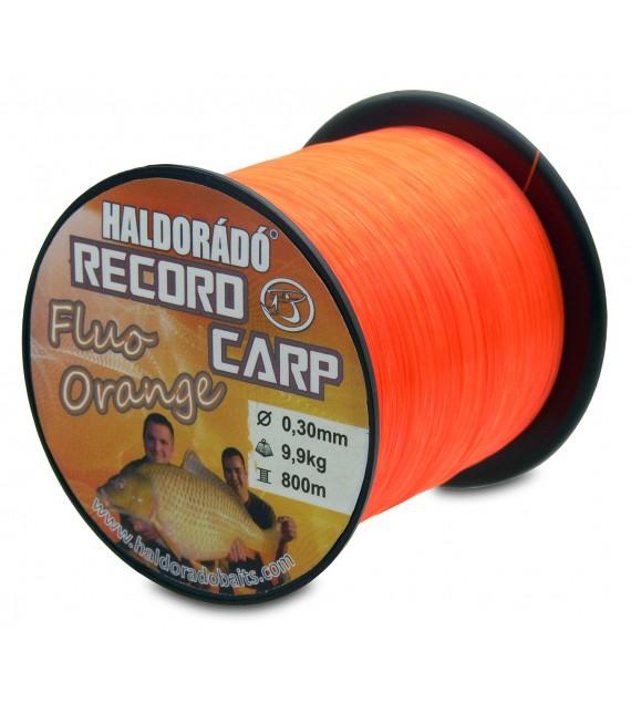 Record Carp Fluo Orange 0,30 mm / 800 m / 9,9 kg