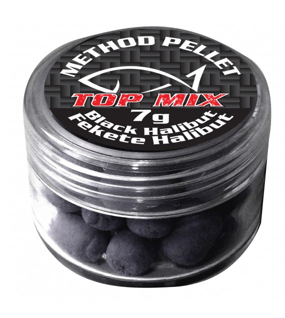 Method Feeder pellet, Fekete Halibut