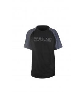 PRESTON BLACK T-SHIRT - MEDIUM