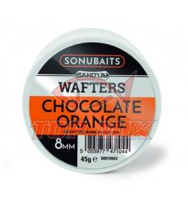 Bandum Wafters 8mm Chocolate Orange