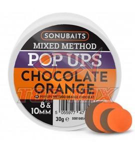 MIXED METHOD POP UPS - CHOCOLATE ORANGE