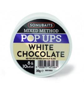 MIXED METHOD POP UPS WHITE CHOCO