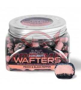 SONUBAITS Ian Russell Barrel Wafters - Peach & Black Pepper