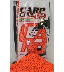 Carp Line Fluoro etető pellet, Csoki-Narancs