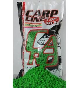 Carp Line Fluoro etető pellet, Zöld Lucerna