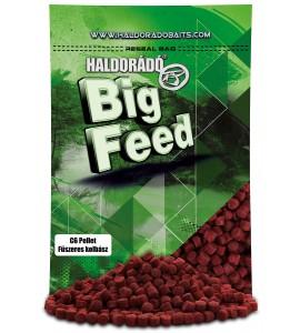 Haldorádó Big Feed - C6 Pellet - Fűszeres Kolbász