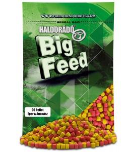 Haldorádó Big Feed - C6 Pellet - Eper&Ananász