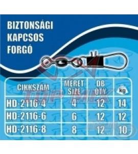 Haldorádó Biztonsági kapcsos forgó - kicsi (S)