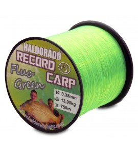 Record Carp Fluo Green  0,30 mm / 800 m / 10,85 kg
