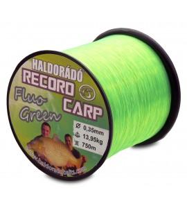 Record Carp Fluo Green  0,35 mm / 750 m / 13,95 kg