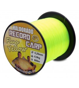 Record Carp Fluo Yellow 0,25 mm / 900 m / 6,9 kg