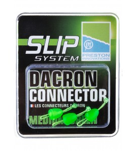 MEDIUM DACRON CONNECTOR - MEDIUM GREEN