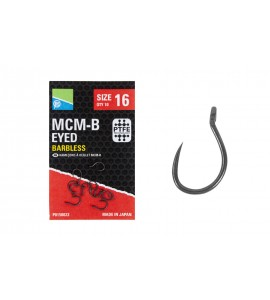 MCM-B EYED HOOKS SIZE 10