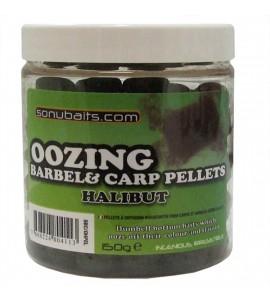 OOZING BARBEL&CARP PEL PELLETS HALIBUT