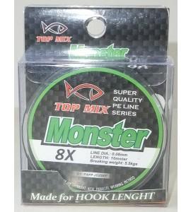 X8 Monster előke zsinór 0,08mm
