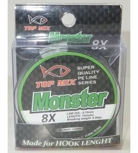 X8 Monster előke zsinór 0,10mm