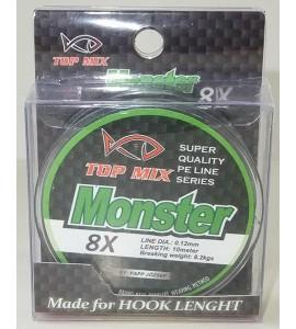 X8 Monster előke zsinór 0,12mm