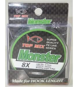 X8 Monster előke zsinór 0,14mm