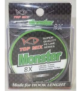 X8 Monster előke zsinór 0,18mm