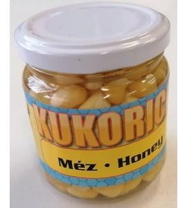 Üveges kukorica, méz