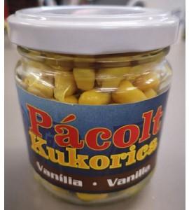 Üveges kukorica, pácolt vanília