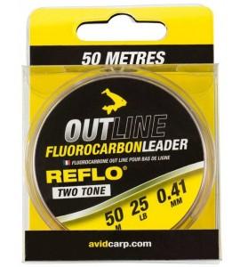AVID CARP OUT LINE FLUOROCARBON 0.41mm 25lb