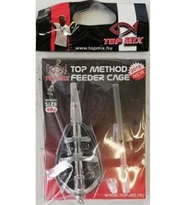TOP Method Feeder kosár, Match size, 40g