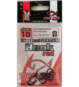 Method Feeder horog #10, vörös