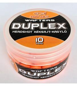 Duplex Wafters HeadShot, kéksajt-kagyló, 10 mm
