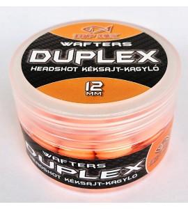 Duplex Wafters HeadShot, kéksajt-kagyló, 12 mm