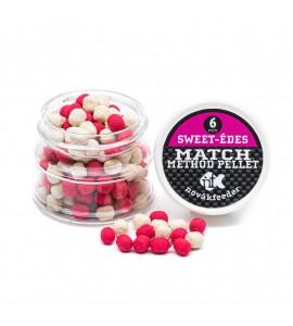NovákFeeder Match Method Pellet 6mm Pink- Fehér