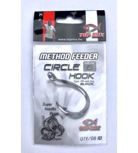 Top Mix Method feeder Circle hook #6